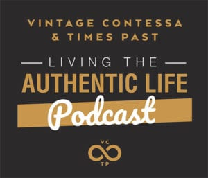 Living the authentic life home logo